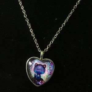 Adorable Kitty Cat Necklace